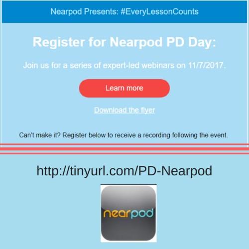 Nearpod online PD