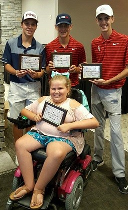 RCS golfers take part in benefit tournament Thumbnail Image