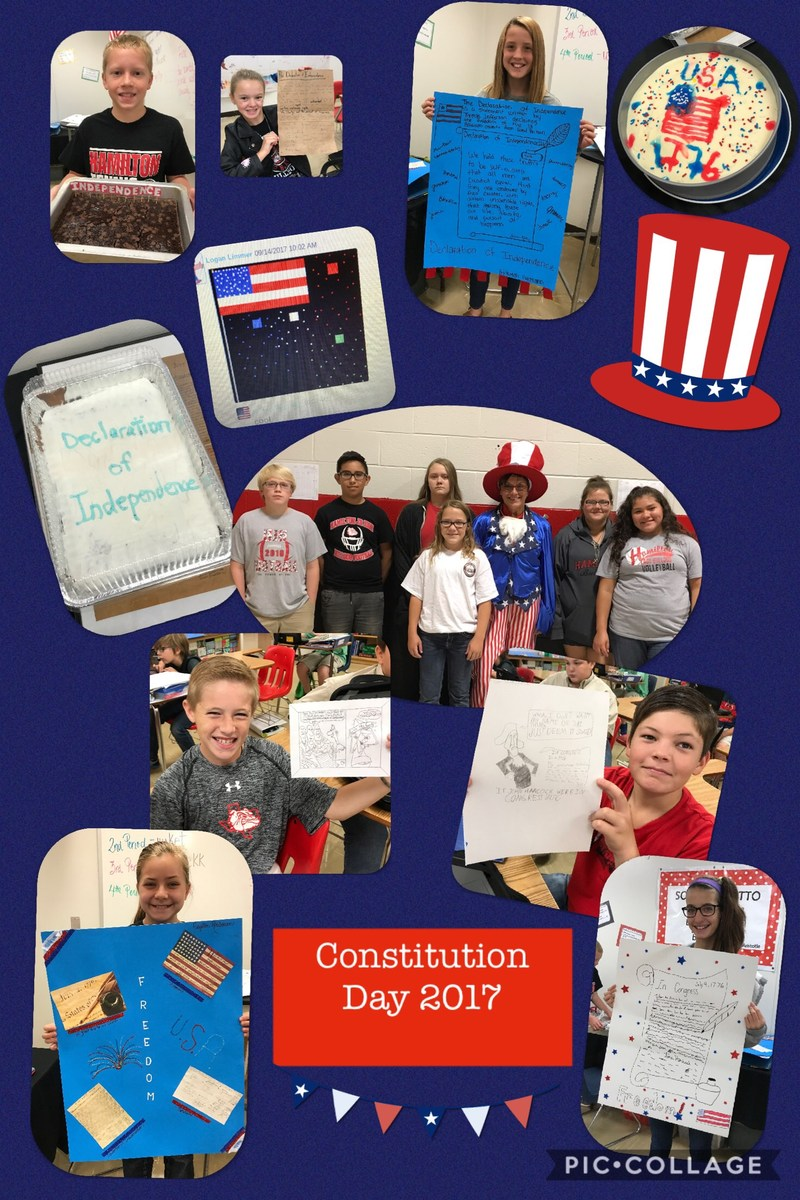 HJH Students Celebrate Constitution Day Thumbnail Image