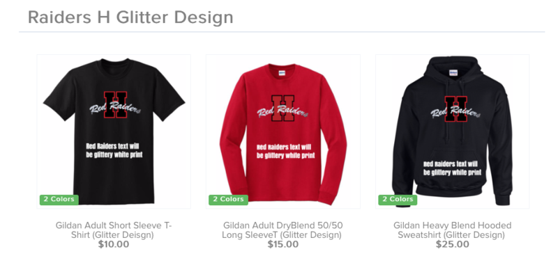 Heritage Middle School Student Council Spiritwear Fundraiser Thumbnail Image