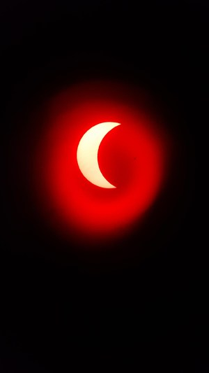 Telescope with Red Solar Filter.jpeg
