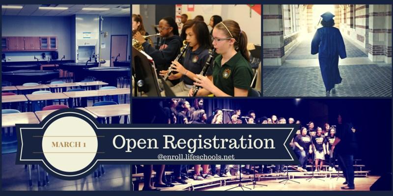 Open Registration March 1st