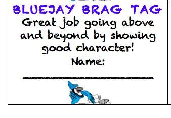 Bluejay Brag Swag