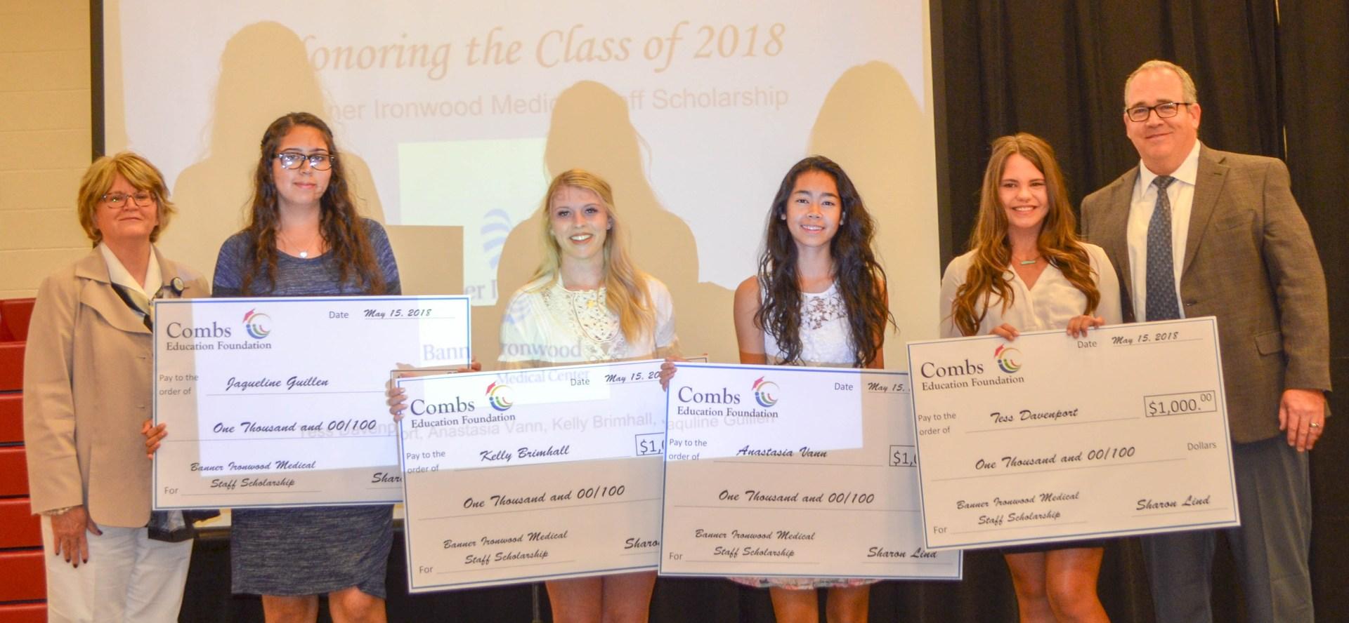 Banner Ironwood Medical Staff Scholarship Awardees