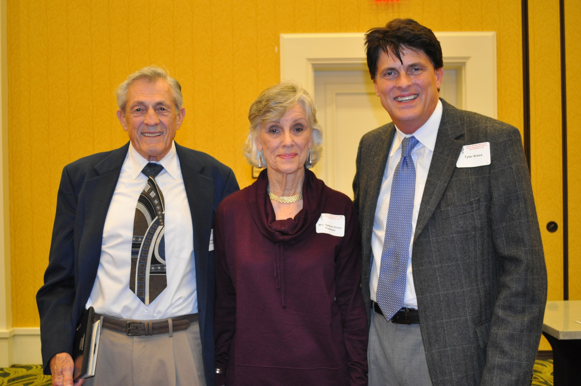 2014 Induction Ceremony: Dr. Thomas S. Kress and Family