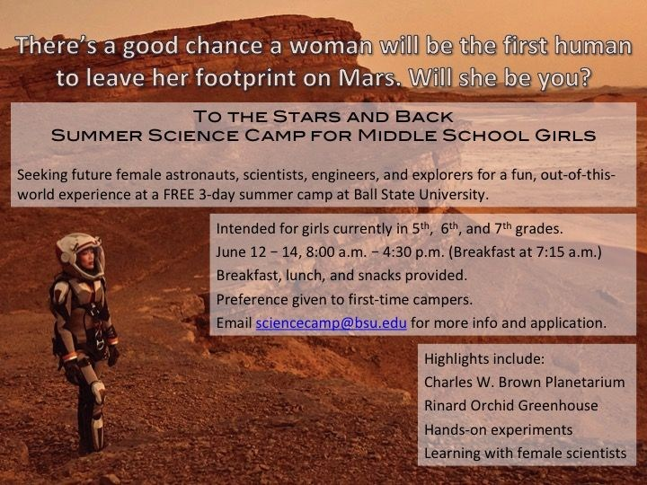 Summer Science Camp for Girls Thumbnail Image