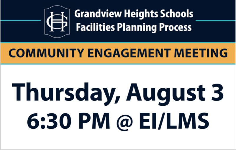 Community Meeting August 3 Graphic