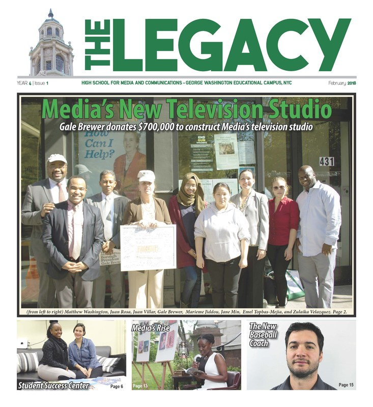 The Legacy - February 2018 Issue Featured Photo