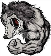 Muscular Wolf
