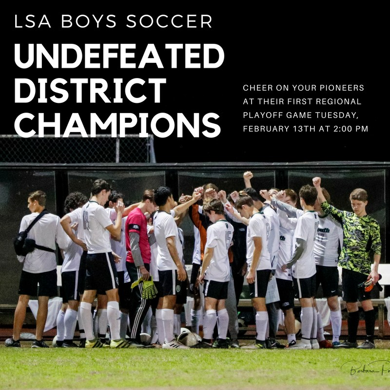 Boys Soccer Team Undefeated in Their District Thumbnail Image