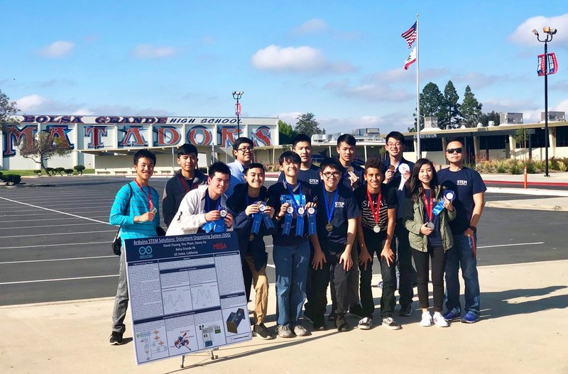 MESA Team Wins 1st Place at National Engineer Design Competition! Thumbnail Image