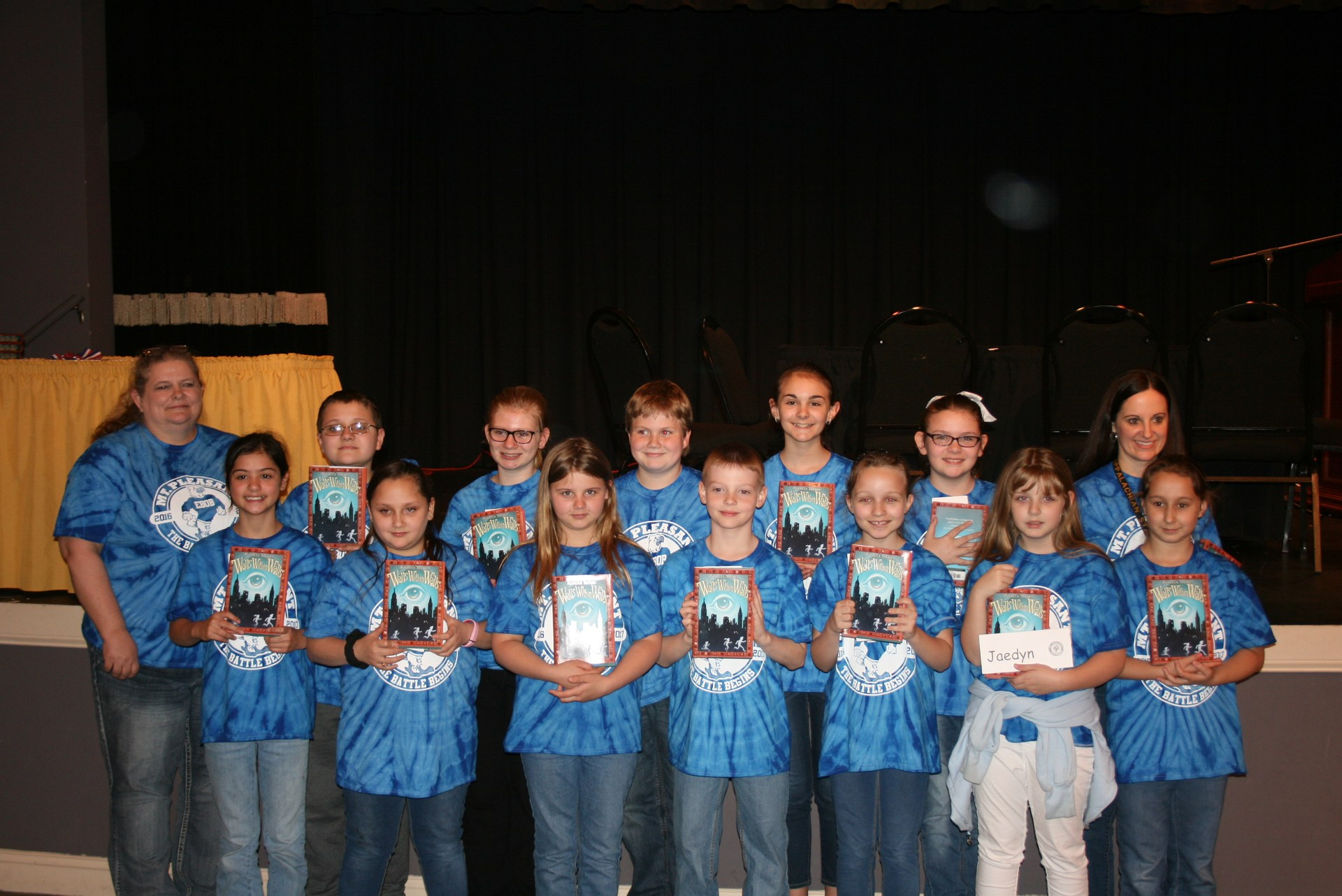 Mt. Pleasant Elementary's Battle of the Books Team