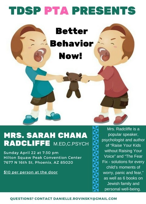 Better Behavior Now flyer