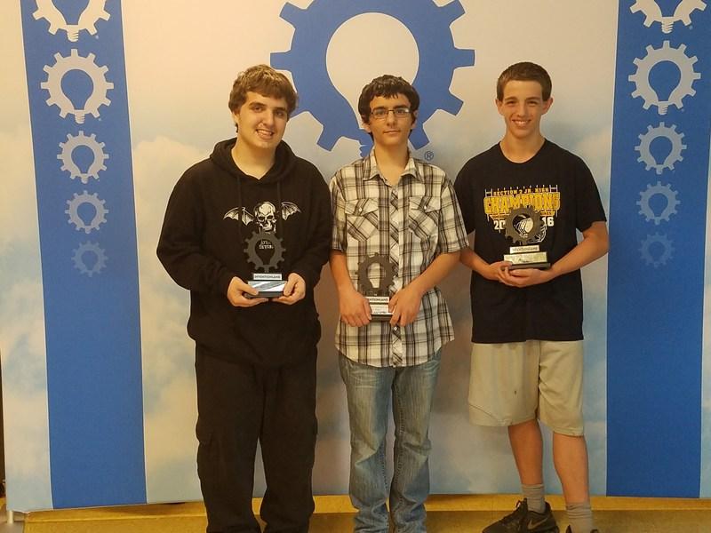 8th grade Inventionland students