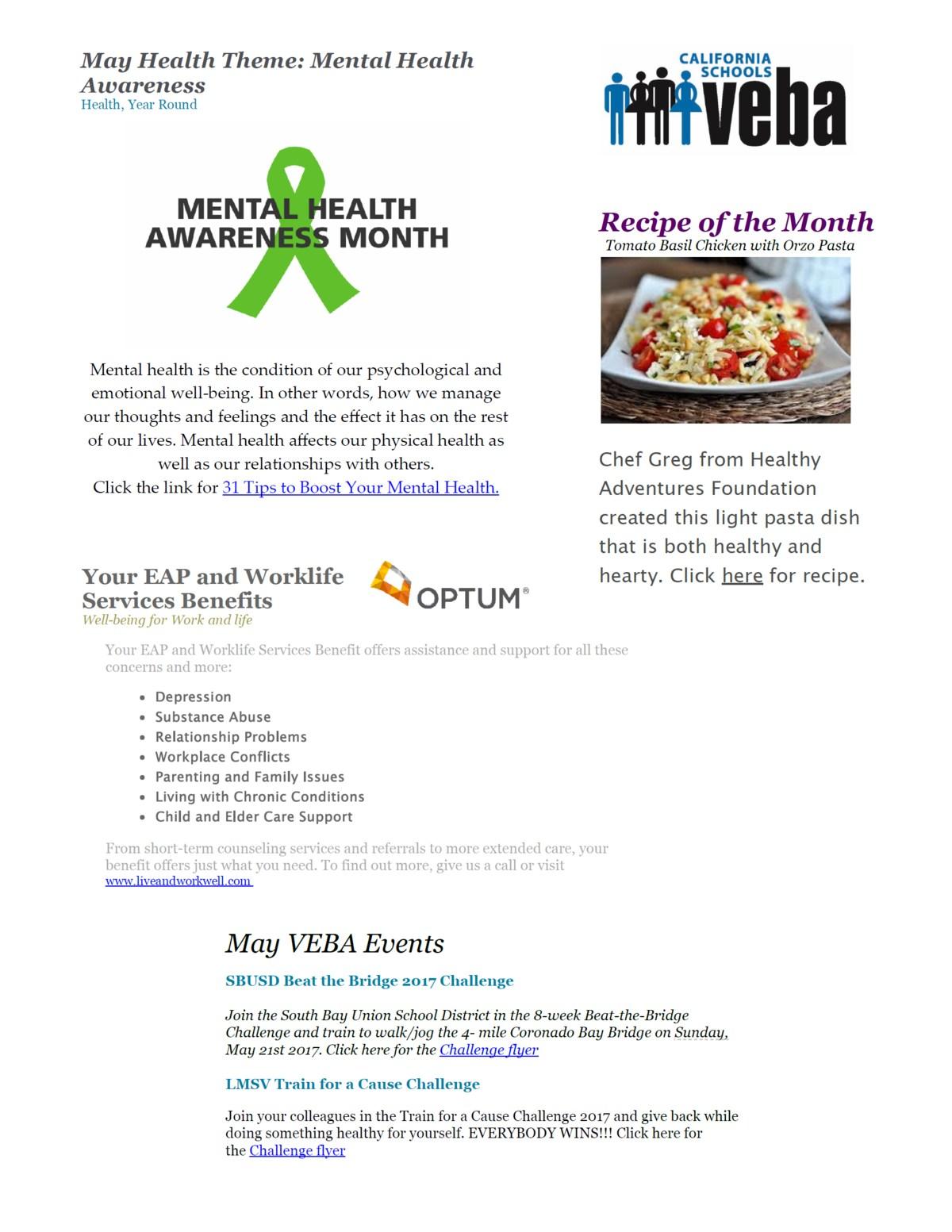May VEBA PDF Flyer Graphic