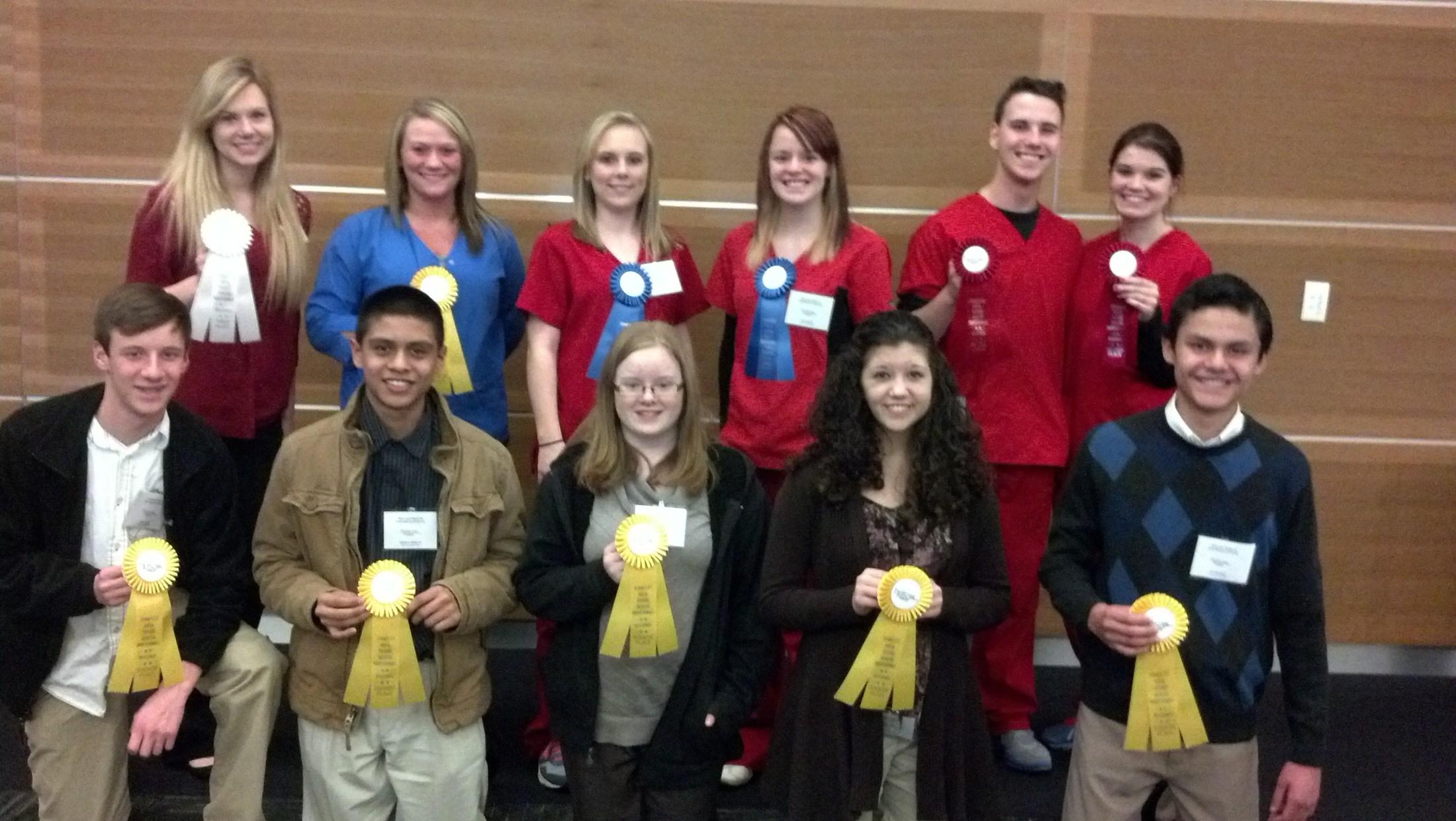 HOSA's Regional Winners 2015