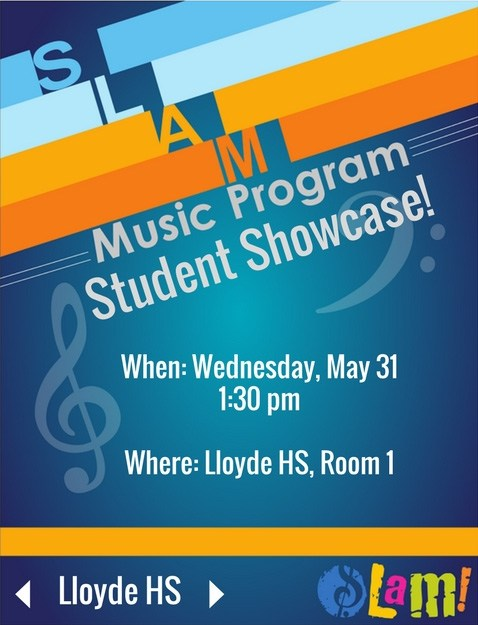 SLAM! Music Club Showcase at Lloyde High School Thumbnail Image
