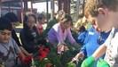 OSSD Students Plant Garden for Healthy schools initiative
