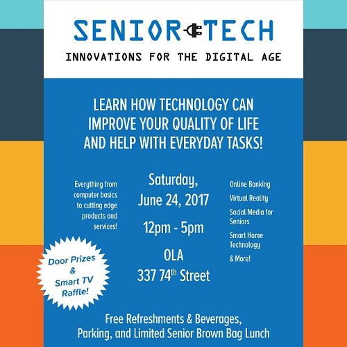 Senior Tech Fair: Saturday, 6/24 Thumbnail Image