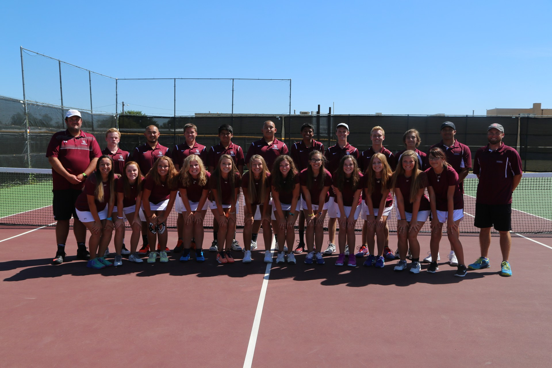 HHS Tennis Team
