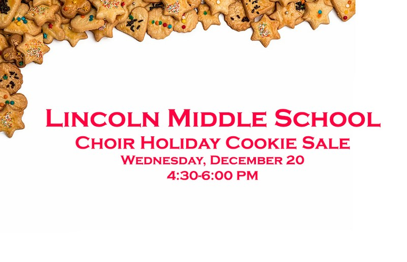 LMS Holiday Cookie Sale Thumbnail Image