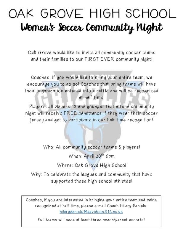 Community Night Soccer