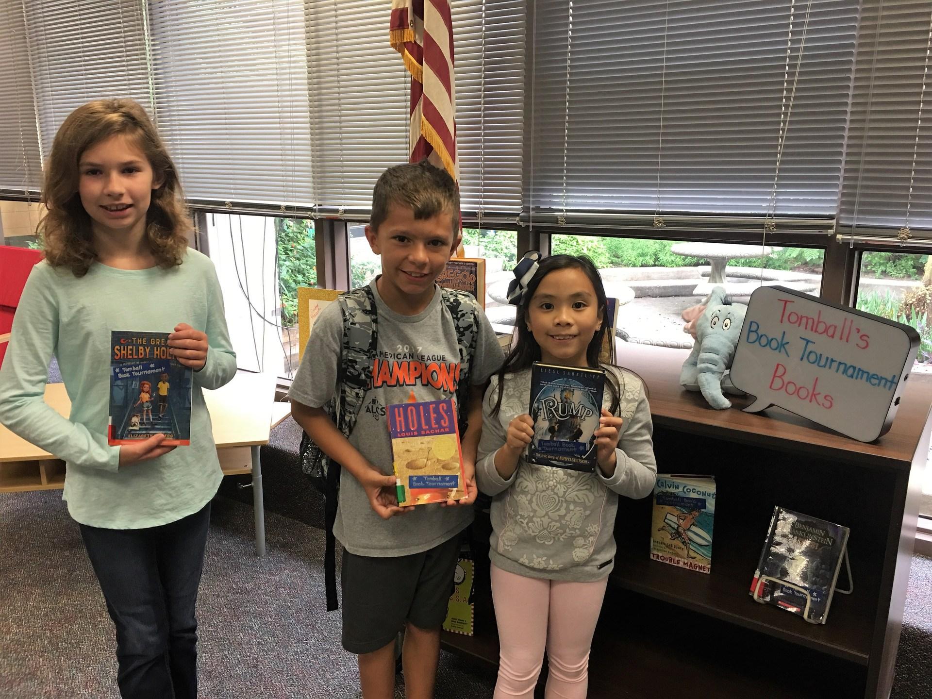 Tomball Book Tournament