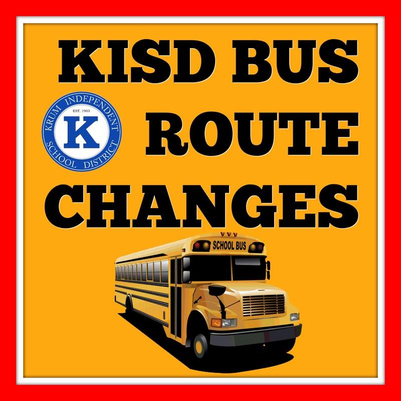 2017-2018 KISD Bus Route Changes Thumbnail Image