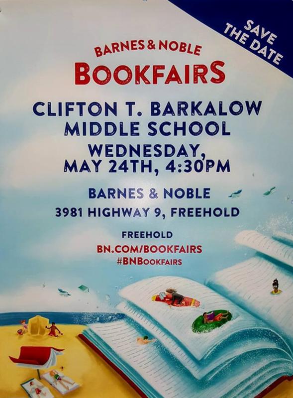 Book Fair at Barnes & Noble Thumbnail Image