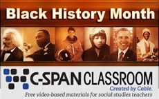 C-Span Black History Resources