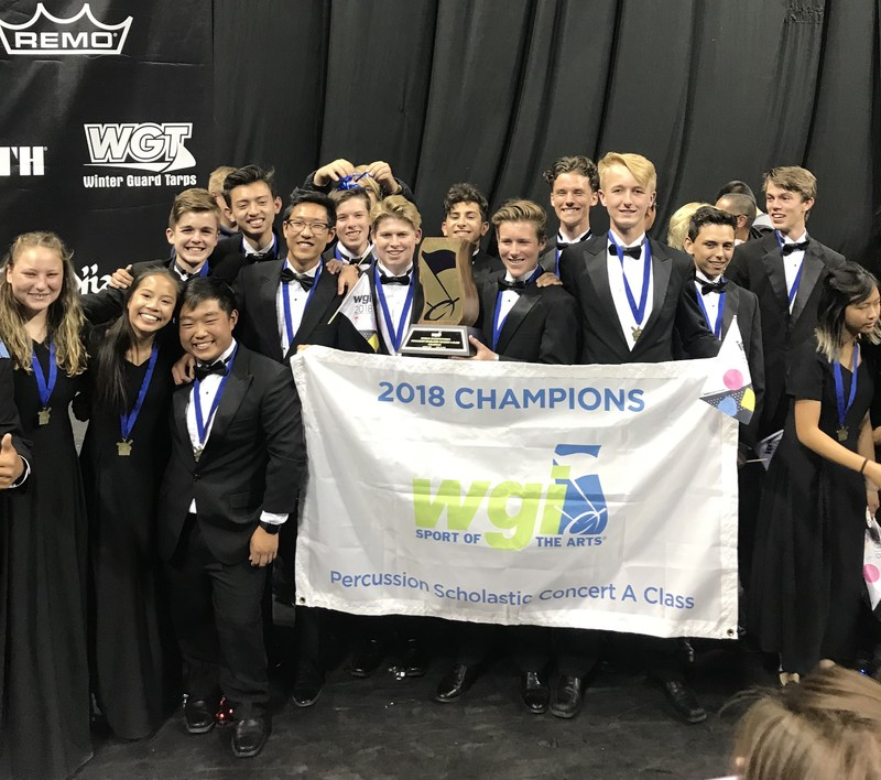 West Ranch Percussion World Champions