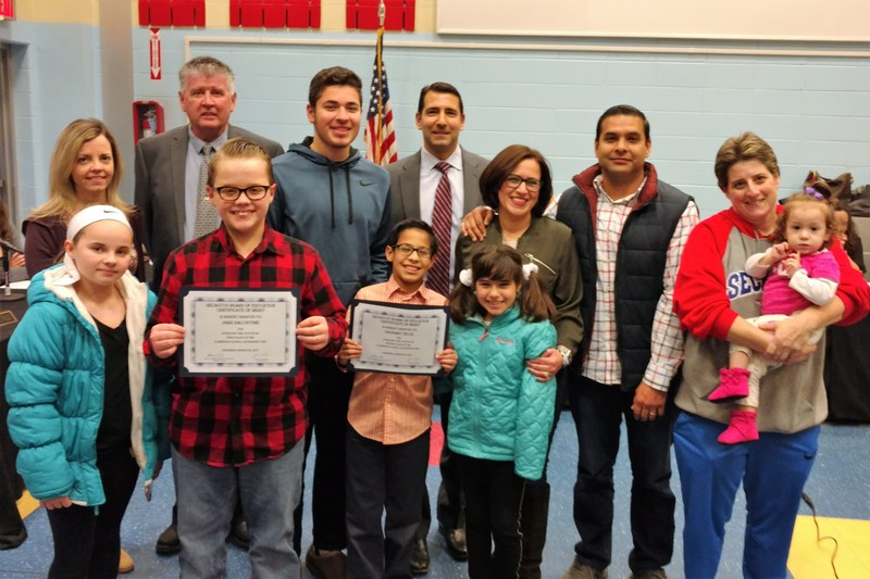 Board of Education Honors Clarendon School Geography Bee Winners Thumbnail Image