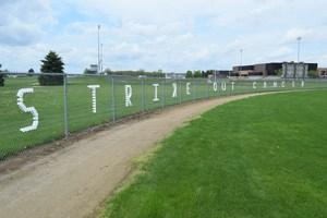 TKHS girls JV softball team took aim to
