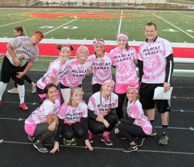 Wildcat Games 2017: Pink Panthers for life! Team assemble!