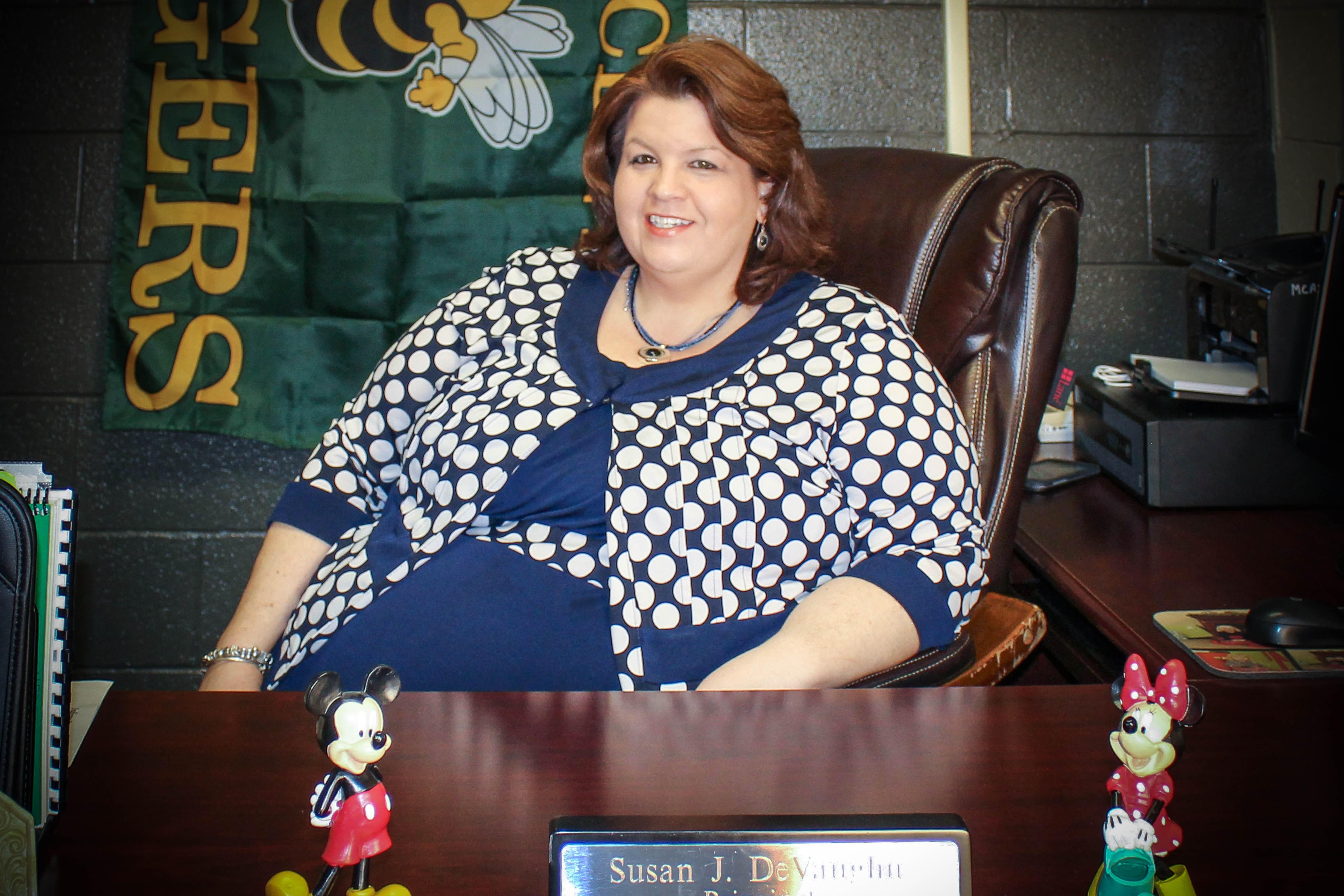 Rayne Elementary Principal, Mrs. Susan DeVaughn