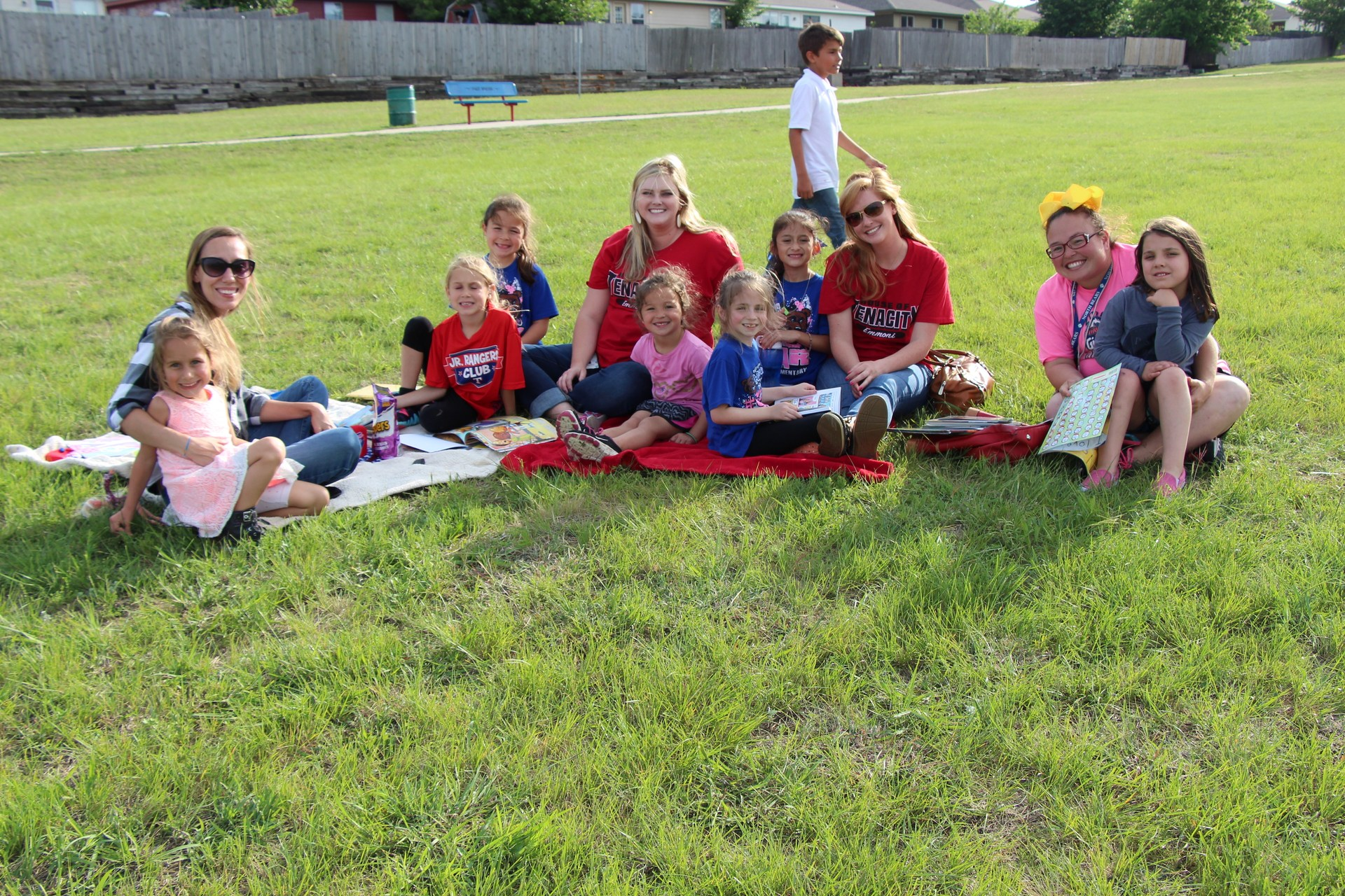 North Elementary's Reading in the Park