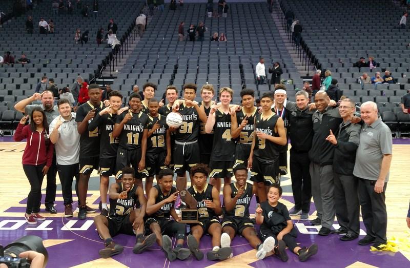 Boys' Basketball Wins State Title Thumbnail Image