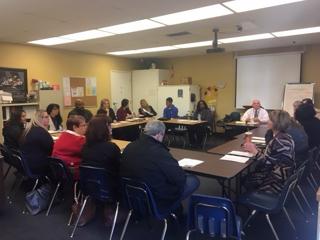HIRE Committee Meeting at Ruggenberg Career Center