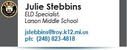 Julie Stebbins email