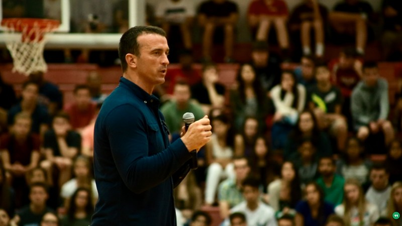 Former NBA star Chris Herren to speak to Academy families on Feb. 28 on opioid addiction Thumbnail Image