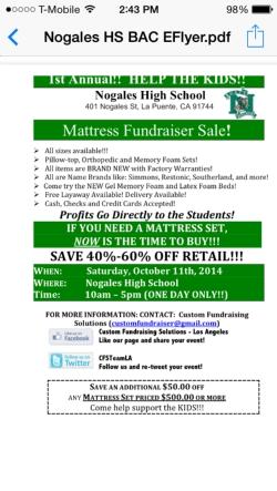 Mattress Fundraiser.jpg