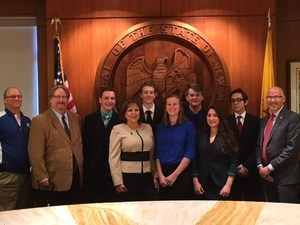 CECHS BPA Officer Team with Governor Martinez