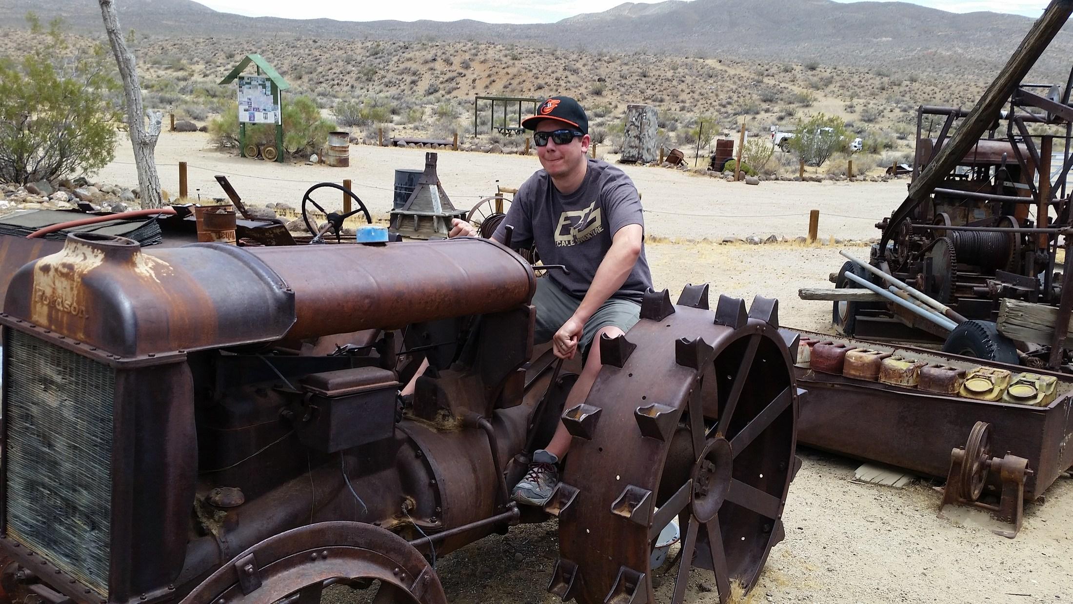 Bickel Camp, El Paso Mountains, CA