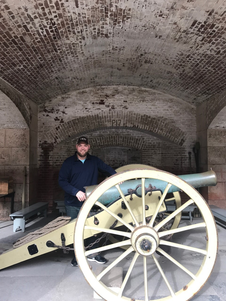 Cannon at Fort Point Ca