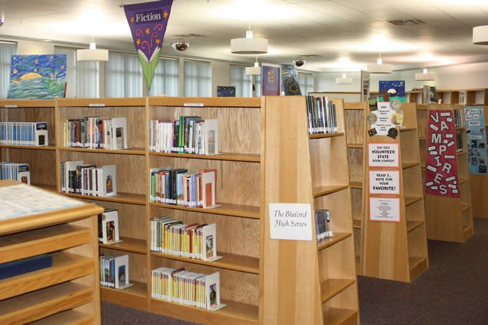 Photo of library media center