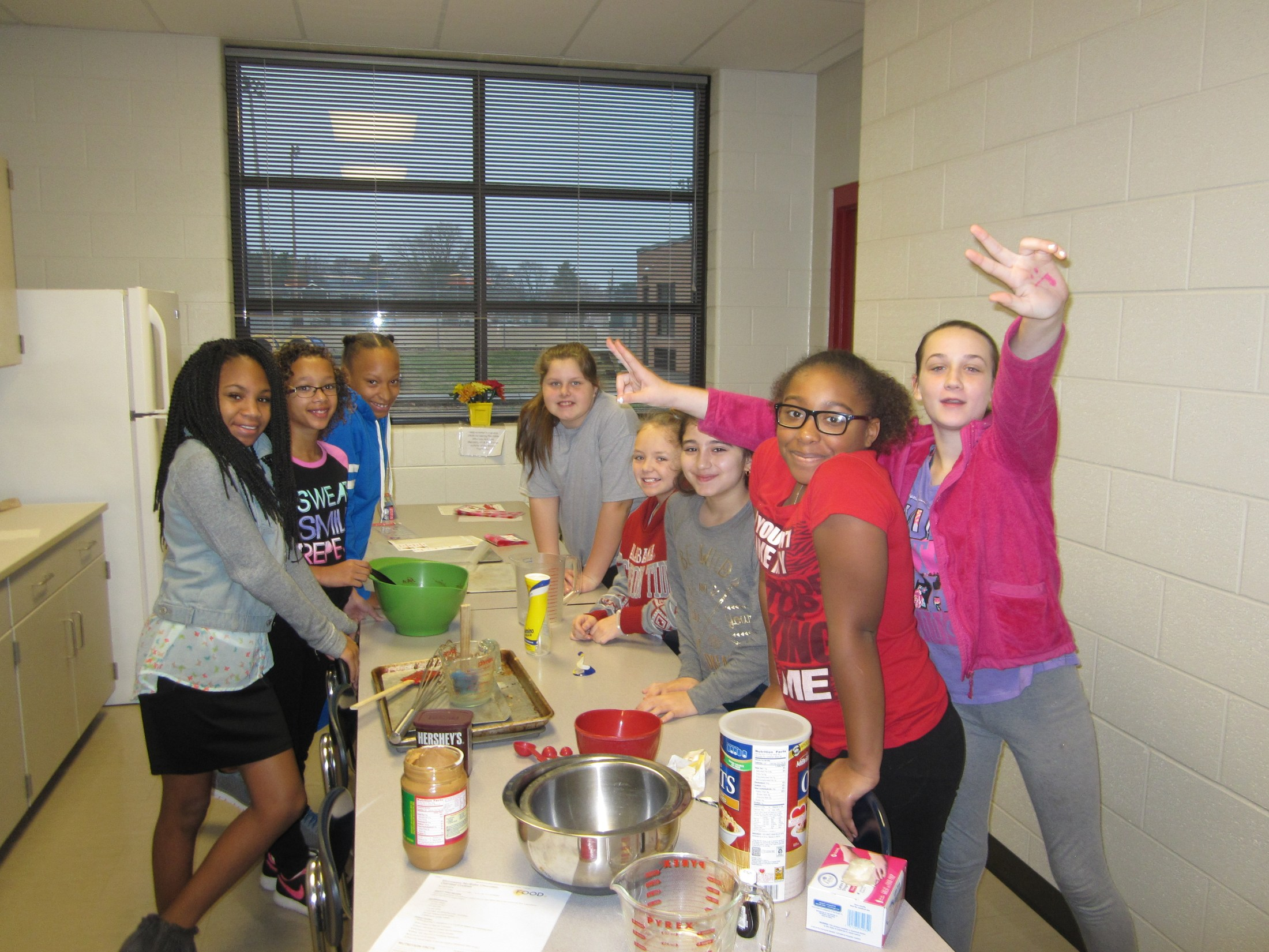Making cookies for the Smyrna Fire Station #1