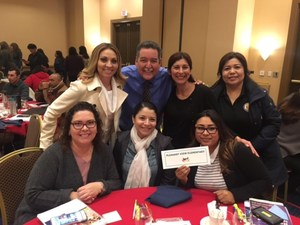 Educators from Baldwin Park Unified's Pleasant View Elementary School pose with internationally known educator Mike Mattos during an intense, two-day workshop held Jan. 23-24 on ways to strengthen student performance.