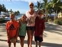Kellie Beck with Children