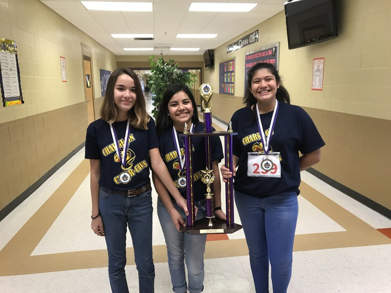RCJH CyberCavs Qualify for TCEA State Competition Featured Photo