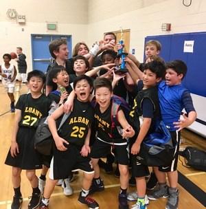 6A Boys Basketball Team.